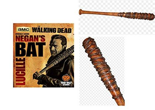 The Walking Dead Rollenspiel -Waffe Negans Lucille braun, Bedruckt, aus Polyurethan, in Geschenkverpackung.