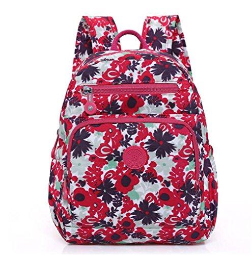 Wmshpeds Le donne 's spalle sacchi marea coreana Leisure Sport Viaggi zaino zaino borsa dello studente D