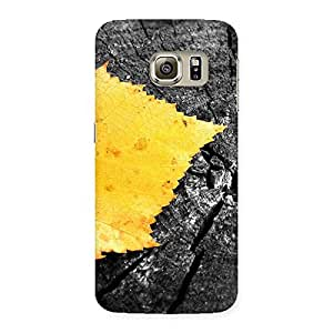 Special Leaf Lone Back Case Cover for Samsung Galaxy S6 Edge