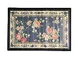 8 modelos 4 medidas de alfombras de bambú anti-deslizante para salón, baño, cocina y habitación / estera multiusos (120 x 180 cm, Estamp.4)