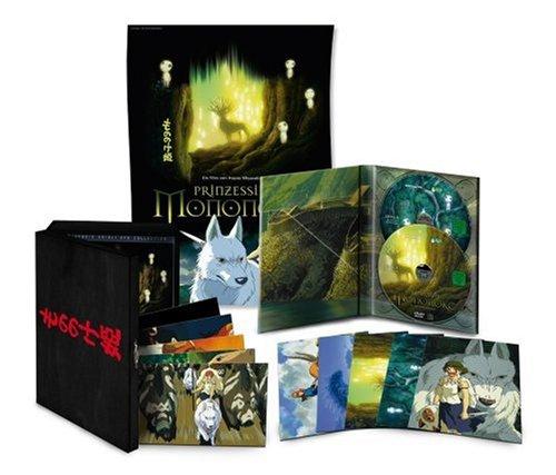 Bild von Prinzessin Mononoke (Special Edition) (Holzbox inkl. Postkarten & Poster - exklusiv bei Amazon.de)