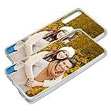 Personalisierte Premium Foto-Handyhülle für Huawei-Serie selbst gestalten mit Foto bedrucken, Hülle:Slim-Silikon / Transparent, Handymodell:Huawei P20 Pro