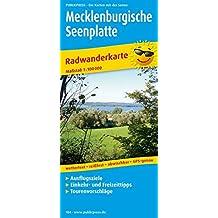 Mecklenburgische Seenplatte: Radwanderkarte mit Ausflugszielen, Einkehr- & Freizeittipps, wetterfest, reissfest, abwischbar, GPS-genau. 1:100000 (Radkarte / RK)