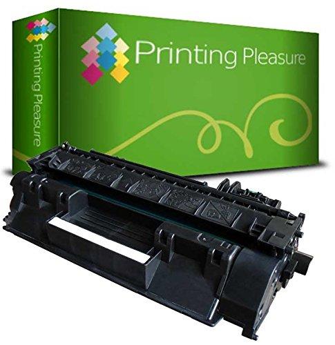 Toner Compatibile per HP Laserjet P2030 / P2035 / P2035N / P2055D / P2055DN / P2055 / P2056 / P2057 / P2055X / CE505A / 05A Nuovo non Rigenerato, Colore: Nero
