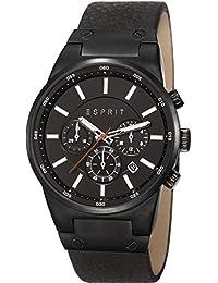 Esprit Herren-Armbanduhr Equalizer Outdoor Chronograph Quarz Leder ES107961001