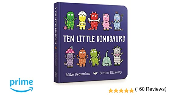 how do dinosaurs count to ten board book
