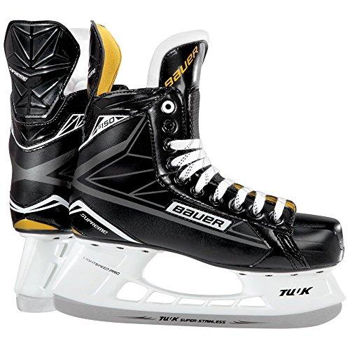 Bauer Supreme S150Senior Eishockey Schlittschuhe, Herren, 1048623, schwarz -