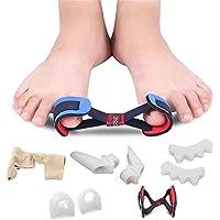 YI WORLD 5 Sätze Zehen Trenn Korrektur Gel Ballen Schutz für Unter und Behandlung der Hallux Valgus ,kit preisvergleich bei billige-tabletten.eu