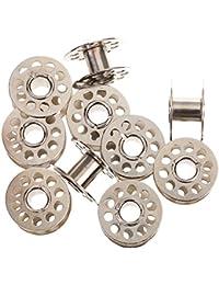 10pcs Metall Spulenkörper Startseite Garnspule Garnrolle für Nähmaschine