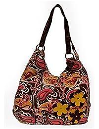 Spice Art Women's Pink Canvas Shoulder Bag