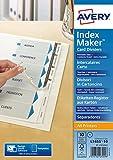 Avery Zweckform 1812061 Ordner Register in DIN A4