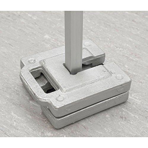 Tentastic Gewichte für Faltpavillons 2-er Set - 10 kg (2 x 10 kg)