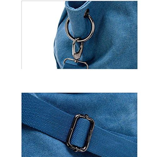 cd7d0f5f7e8a9 ... Leinwand Frauen Große Kapazität Art Und Weise Wearable Atmungsaktiv  All-Gleiches Taschen Handtasche Purple ...