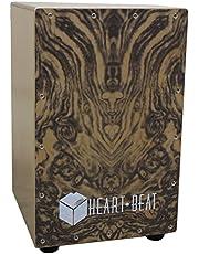 Kadence Heartbeat Cajon - Wood Finish H:46 B:30 L:30