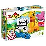 LEGO Duplo 10573 - Lustige Tiere, Spielzeug für Kinder ab 1,5 Jahren
