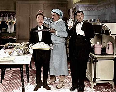 Photo Laurel & Hardy From Soup To Nuts 01c A4 10x8 Poster Print