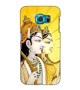 Fuson Designer Back Case Cover for Samsung Galaxy S6 G920I :: Samsung Galaxy S6 G9200 G9208 G9208/Ss G9209 G920A G920F G920Fd G920S G920T (Jai Sri Ram theme)