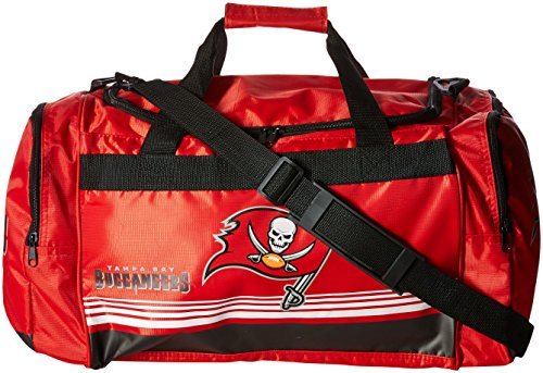 Forever Collectibles Tampa Bay Buccaneers Medium gestreift Core Duffle Bag