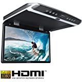 AMPIRE OHV185 hanches 47cm (18,5 pouces) Full HD Moniteur Overhead (1920x1080) avec HDMI + USB + émetteur IR