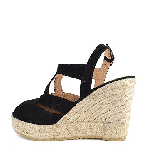 Kanna Viena Sandales, Femme Noir