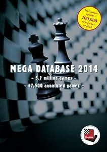 Mega Database 2014: Schachdatenbank 5,7 Mio. Partien