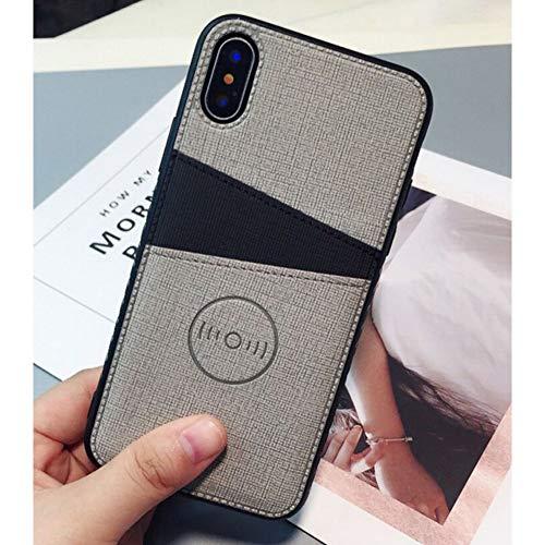 MEISHAON Handyhülle Mode Stoff Tuch Telefon case für iPhone x xs max xr Brieftasche Kreditkarte case für iPhone 8 7 6 6s Plus kartensteckplätze Hard Cover - Kreditkarten-telefon-kasten 5c Iphone