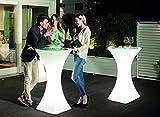Modum Outdoor & Indoor Beleuchteter Stehtisch Brazil in Italienischem Design/Bistrotisch/Bartisch/Gartentisch