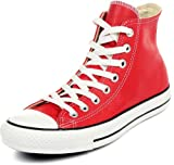 Converse - - Chuck Taylor All Star Basic Leder Hallo Leder-Schuhe in Rot, EUR: 36.5, Red