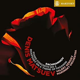 Rhapsody on a Theme of Paganini: I. Introduction - Variation I - Theme - Variation II, III