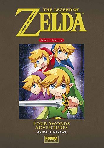 íVIVE LAS AVENTURAS DE LOS CUATRO LINKS EN VERSIÓN KANZENBAN! Este volumen recopila la historia completa de Four Sword Adventures, una trepidante aventura donde la personalidad de Link se divide en cuatro para poder enfrentarse mejor al enemigo. Una