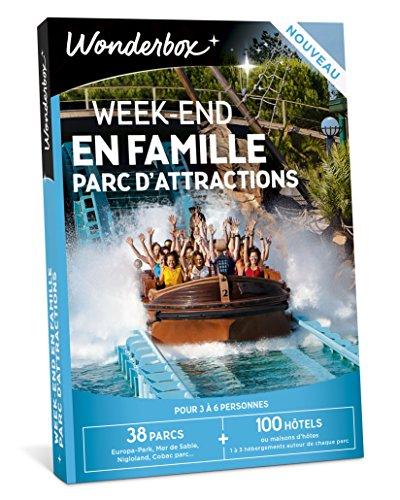 Wonderbox - Coffret cadeau famille - WEEK-END EN FAMILLE PARC D'ATTRACTIONS - 38...