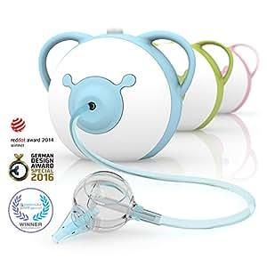 Nosiboo Pro Nasensauger (elektrisch, blau) - Ein perfektes Babyparty-Geschenk!