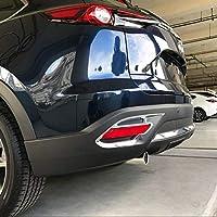FidgetGear - Juego de 2 Luces antiniebla traseras cromadas para Mazda CX-9 2016-
