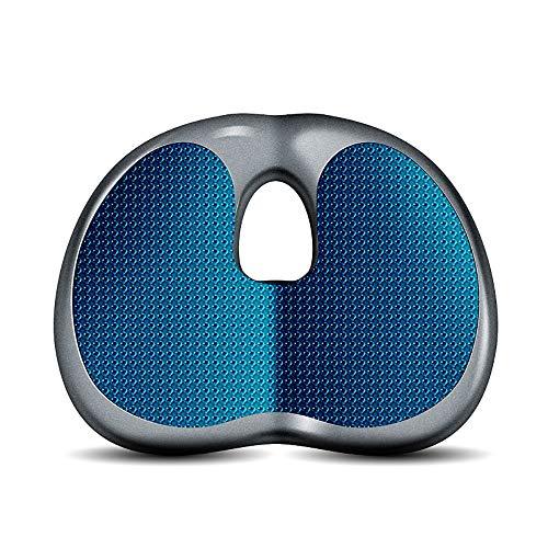 Orthopädische Sitzkissen, Coccyx EXTRA Large Memory Foam Gel Sitting Kissen für Rückenschmerzen, Sciatica für Büro-und Küchenstuhl, Rollstuhl, Auto, Truck (Antriebs-gel-kissen)