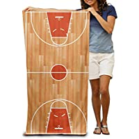 """Cancha de Baloncesto 100% poliéster toalla de piscina silla (31""""x 51"""") de grosor suave toallas de secado rápido ligero de manta"""