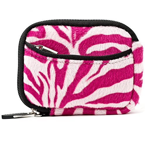 Vangoddy Mini Glove Sleeve Pouch Case For Nikon Coolpix P340, P330, P310, P300, P5000 Point & Shoot Digital Cameras (Pink Zebra) (AD_CAMLEA629_CAM:14:VGLV010)  available at amazon for Rs.1393