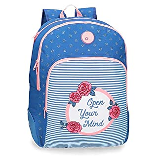 51jzJamvCoL. SS324  - Mochila doble compartimento 44cm adaptable Roll Road Rose