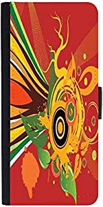 Snoogg Abstract Background Designer Protective Flip Case Cover For Samsung Ga...
