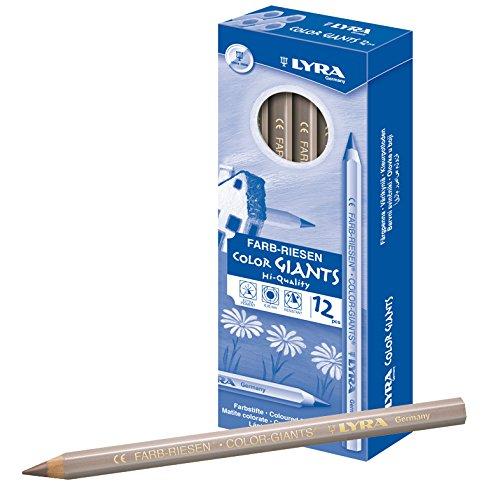 lyra-farb-riesen-boite-en-carton-avec-12-crayons-de-couleur-marron-metallique