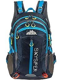 2212fa41f0b15 SKYSPER Wanderrucksäcke Wasserdichte Trekkingrucksäcke Outdoor Rucksack 38L  Camping Sporttasche für Sport und Bergsteigen