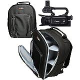 """Navitech robuste transport noir sac à dos / sac à dos / cas pour Sony PXW-X70 XDCAM """"4K Ready"""" XAVC Compact Camcorder / Camera"""