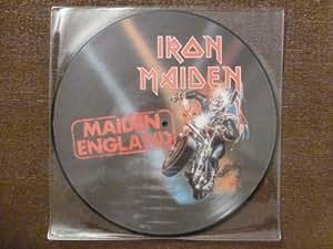 MAIDEN ENGLAND.20 BIT REMASTERS.EMI.RARE.PICTURE DISC.