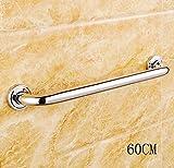 Wandmontierte Hauspflege Edelstahl Älteres Badezimmer Anti-Rutsch-Handlauf Home Support Griff ( größe : 60 )