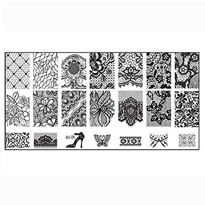 Malloom® Nail Stamp Stamping Image Plate Print Nail Art Template