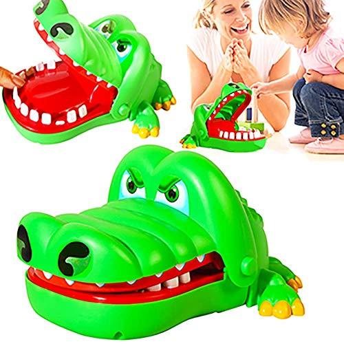 roße Krokodil Zahnarzt Mund Biss Finger Spiel lustiges Spielzeug für Kinder langlebig und praktisch ()