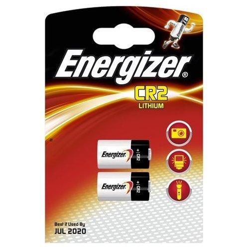 ENERGIZER Blister de 2 Piles Lithium CR2 3V