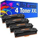Tito-Express PlatinumSerie 4X Toner-Patrone für HP CF530A-533A Color Laserjet Pro MFP M180 N MFP M180 FNDW MFP M181 FW