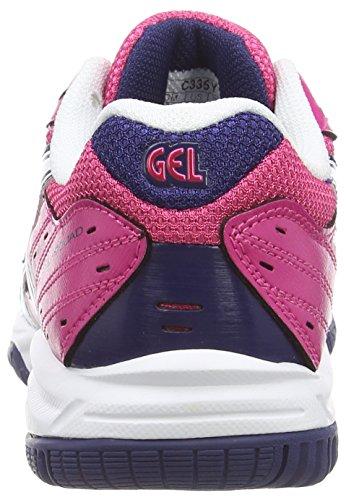 ASICS - Gel-Squad Gs, Scarpe Sportive Indoor, infantile Rosa (Magenta/White/Indigo Blue 3501)