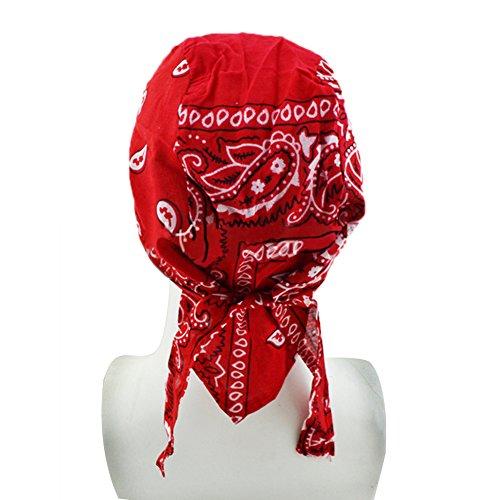 Unisex Cycling Headscarf Breathable Pirate Hat Anti-UV Headband Head Wrap Cap Headgear Headwear for Outdoor Sports Hiking Cycling Climbing Running Bike Riding Motorcycle Horseback Boating Skating 6 Co