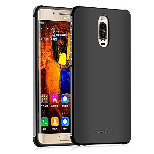 Hevaka Blade Huawei Mate 9 Pro Hülle - Weiche Silikon TPU SchutzHülle Tasche Case Cover für Huawei Mate 9 Pro - Schwarz